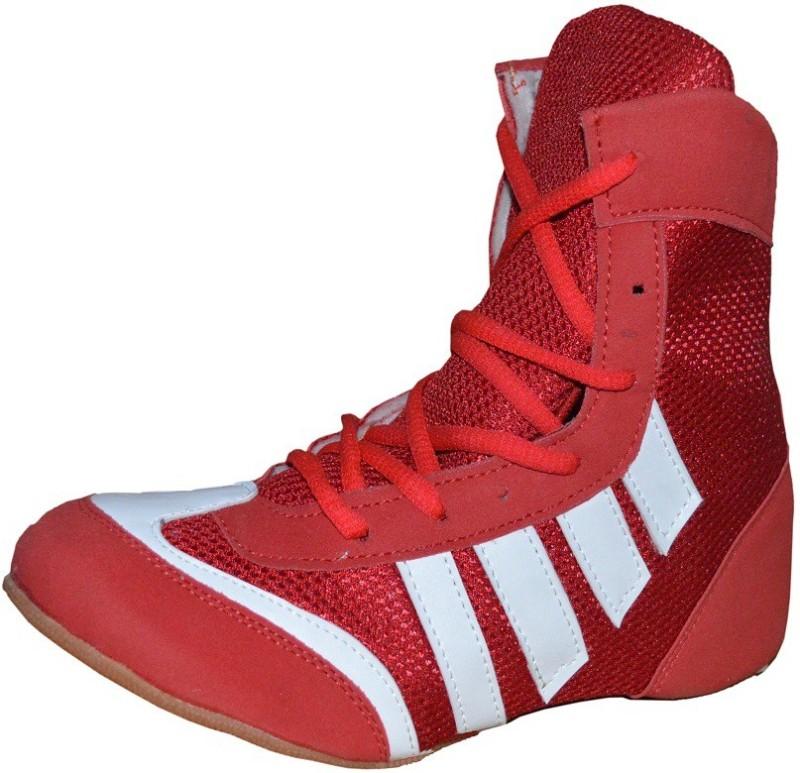 Port Pro-Combbat Boxing & Wrestling Shoes(Red)