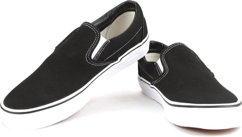 Vans Men Loafers For Men(Black)