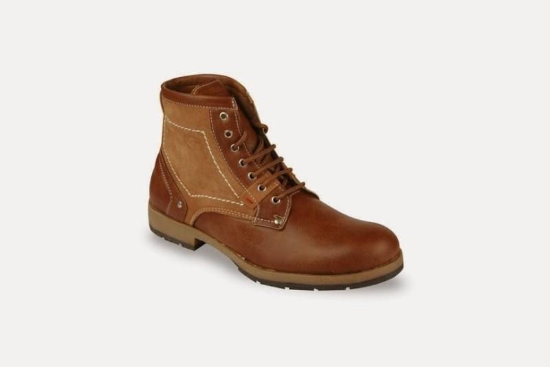 Bacca Bucci Beige Desert walk ankle boots Boots For Men(Beige)