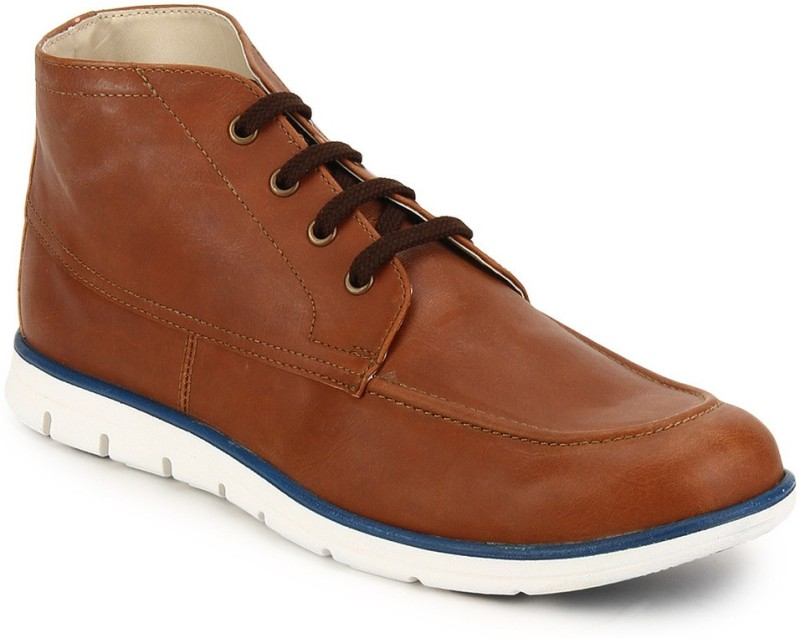 Knotty Derby Anthony Ankle Casual Shoes For Men(Tan)