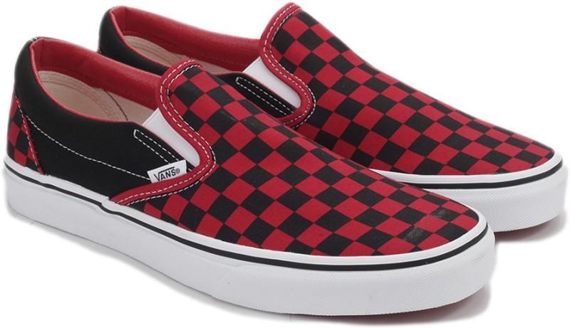 Vans CLASSIC SLIP-ON Loafers For Men(Black)