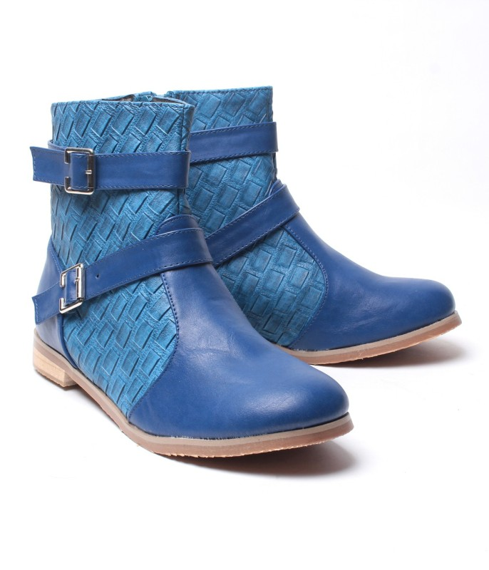 Nell Boots(Blue)