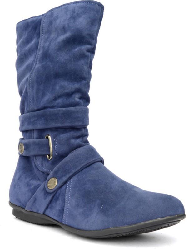 Bruno Manetti Balbina Women's Boots For Women(37, Navy) image