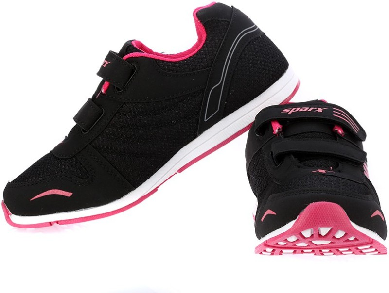 Sparx Trendy Black Pink Running Shoes For Women(Black, Pink)