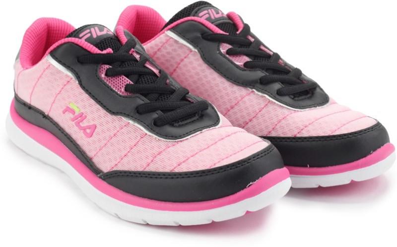 Fila NOZZO Running ShoesBlack Pink