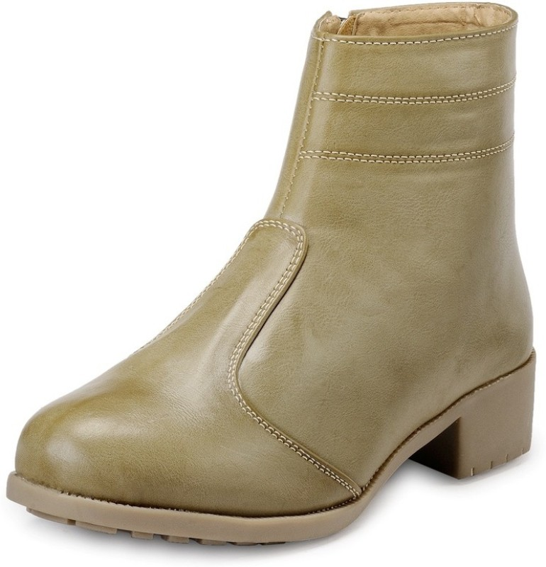Marc Loire Loire Womens Camel Zipper Boots Boots For Women(Tan)