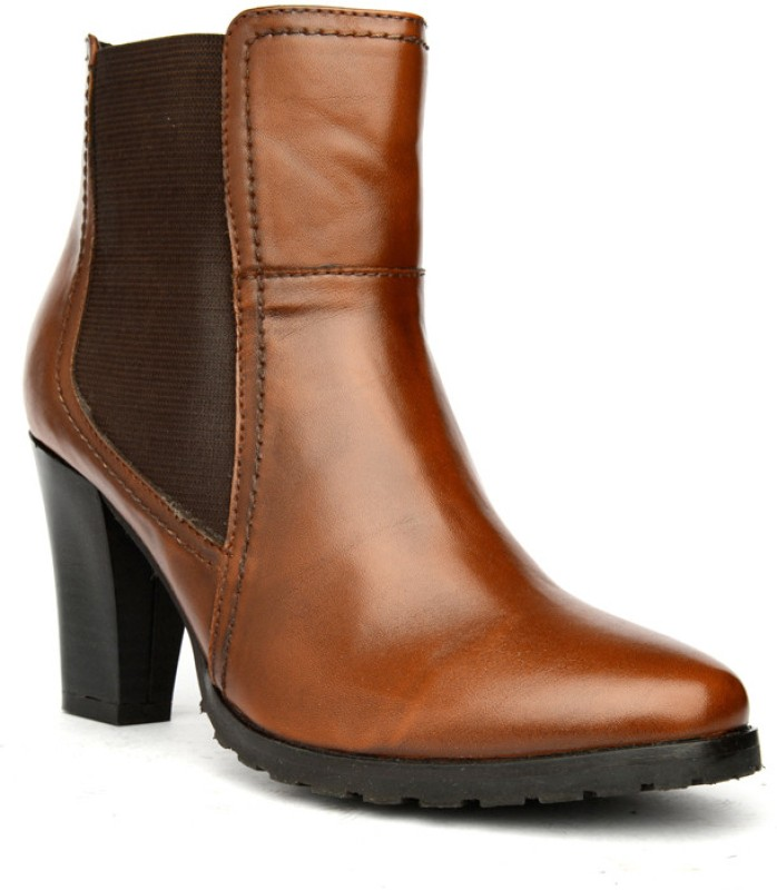 Bruno Manetti Teresa Women's Boots For Women(39, Tan, Brown) image