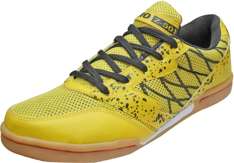 Zigaro Badminton Shoes(Yellow, Black)