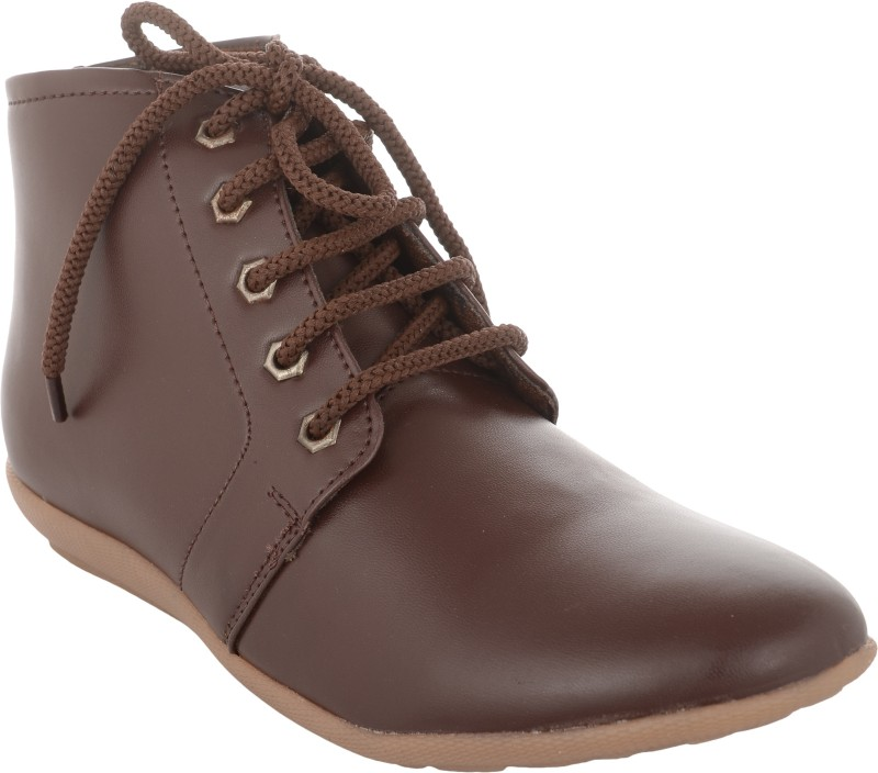 Exotique EL0051 Boots For Women(Brown)