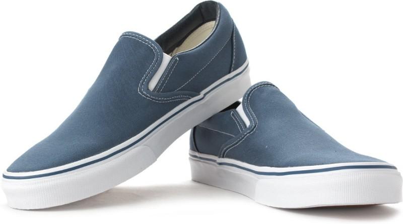 Vans Men Loafers For Men(Blue)