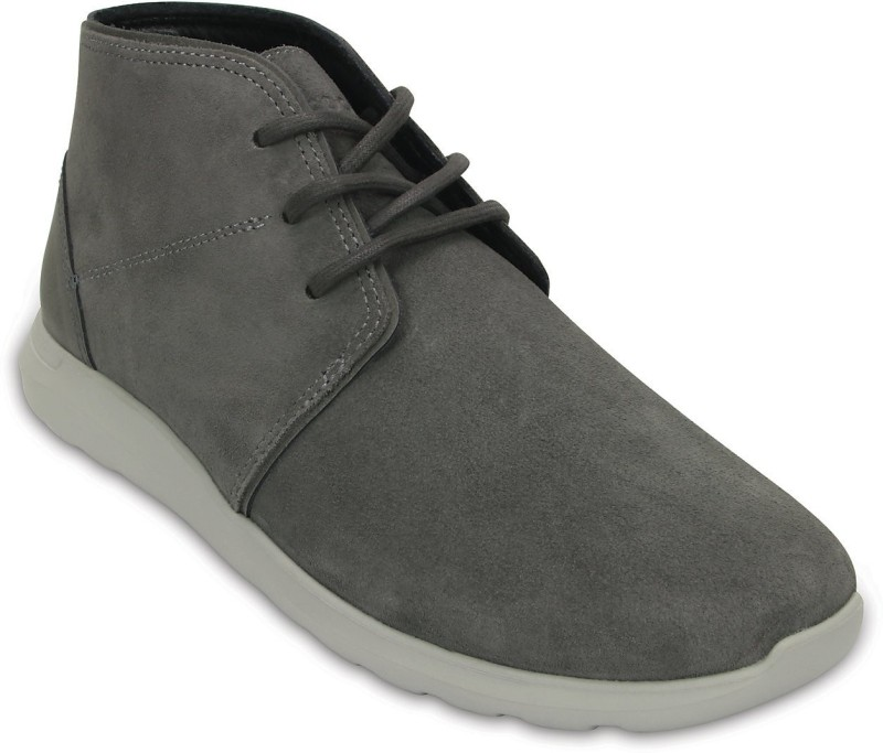 Crocs Boots For Men(Grey)