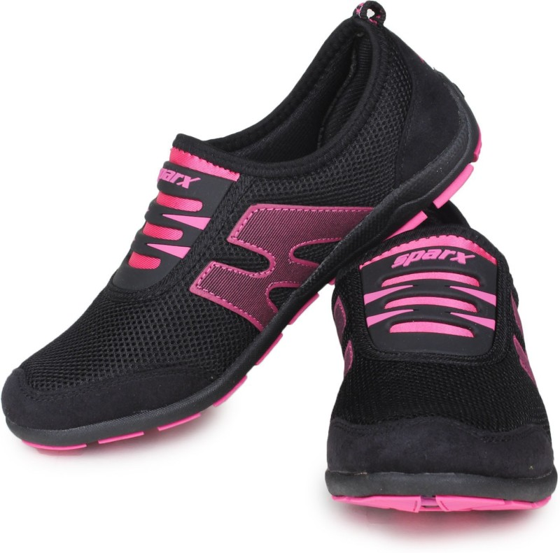 Sparx Running Shoes(Black, Pink)