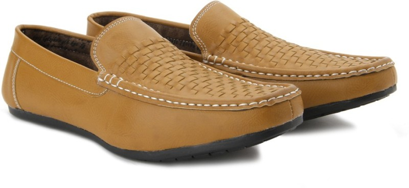Andrew Scott Crusoe Loafers For Men(Tan)