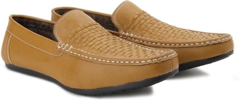 Andrew Scott Crusoe Loafers For Men(Tan)