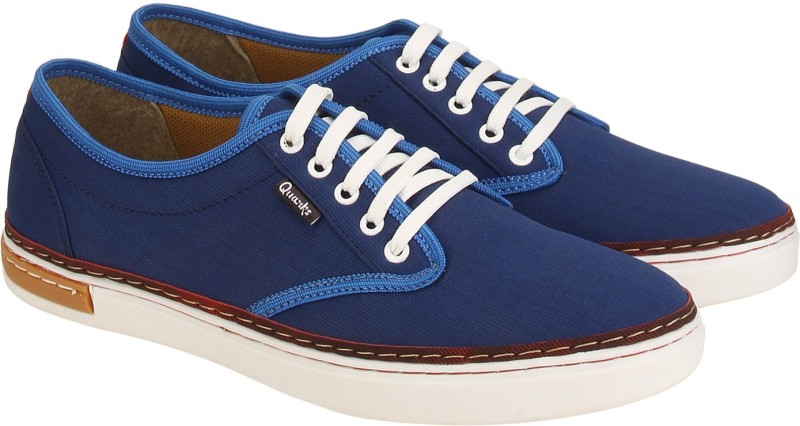 Quarks Canvas Shoes(Blue)