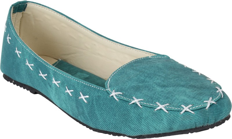Authentic Vogue Loafers For Women(Green)