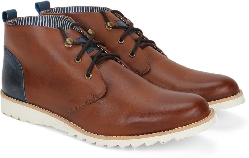 Provogue Boots For Men(Tan)
