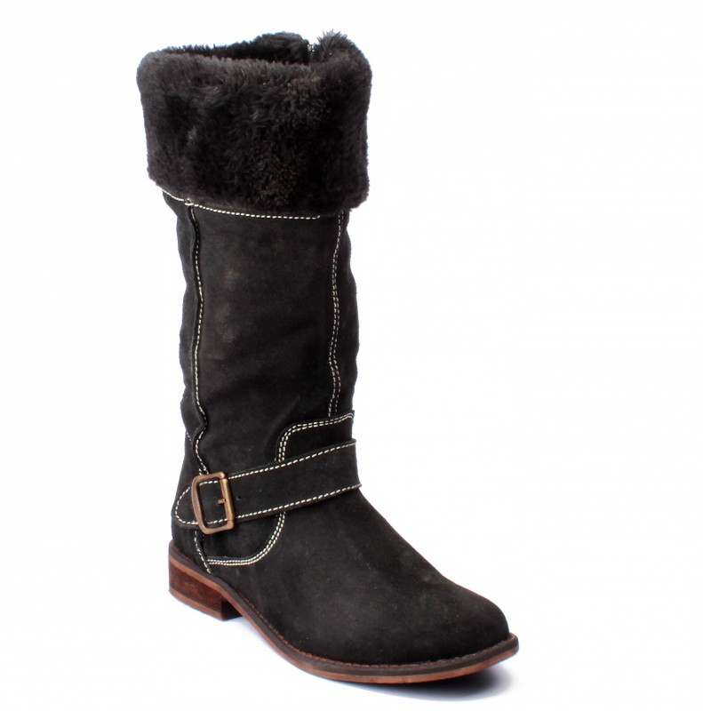Willywinkies Women Women's Boots For Women(40, Black) image