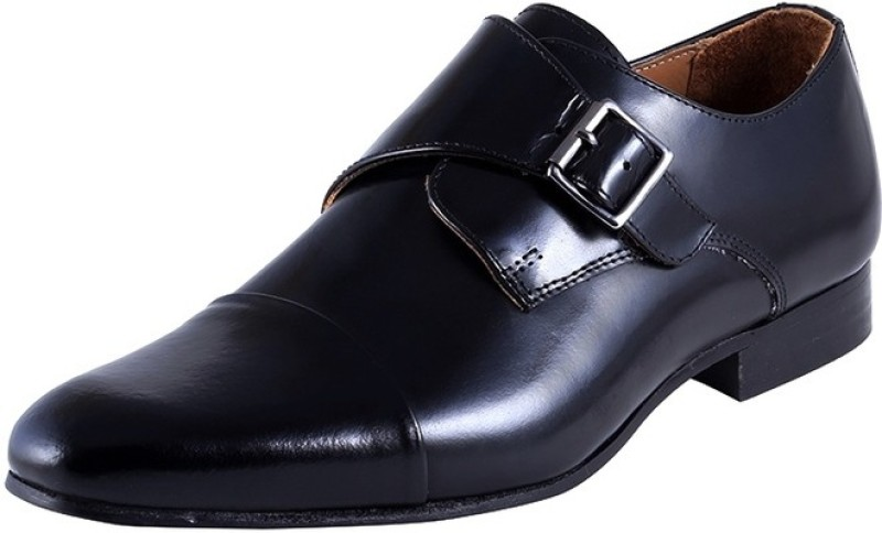 Urban Country Monk Strap For Men(Black)