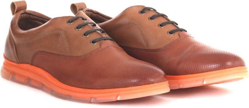 Knotty Derby Johnson Oxford Corporate Casuals For Men(Tan)