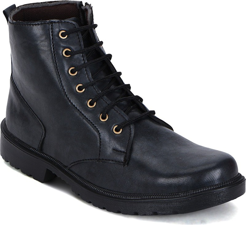 Kielz Boots For Men(Black)