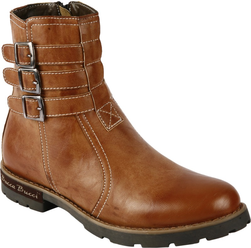 Bacca Bucci PS-1032 Boots For Men(Tan)