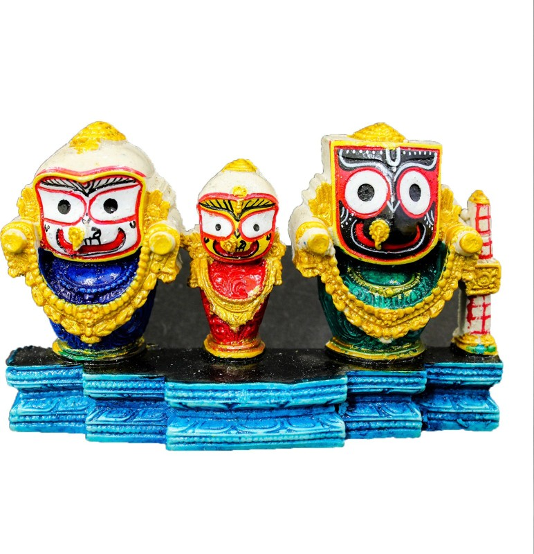 THE HOLY MART Polyresin Home Temple(Height: 2.5 cm)