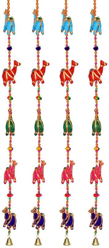 Little Jaipur Fabric Camel Door Hanging Set Toran(Fabric)