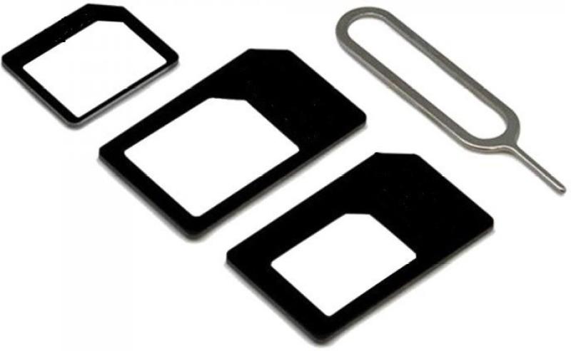 tekno1st solution 11000021 Sim Adapter(plastic)