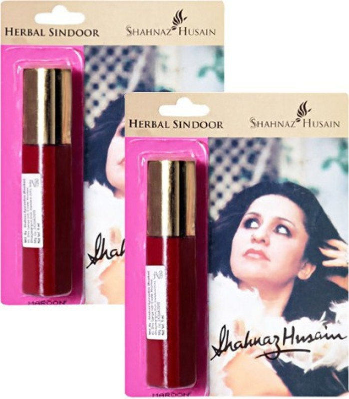Shahnaz Husain Herbal Sindoor Pack of 2 Sindoor(Maroon)