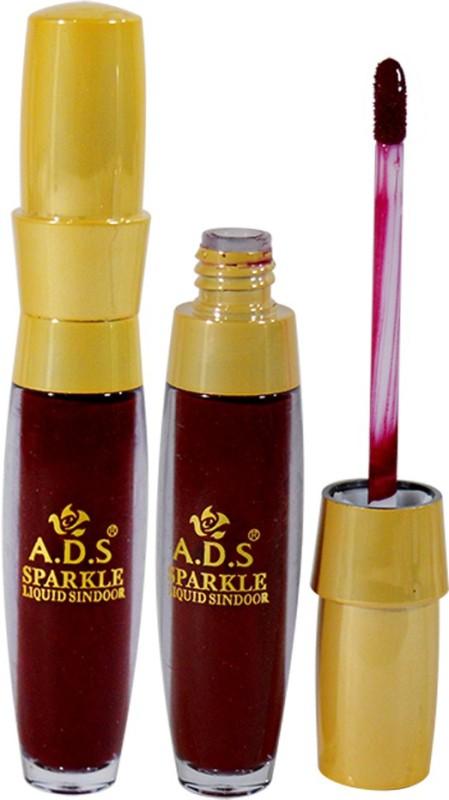 ADS Sparkle Waterproof Sindoor Sindoor(Red)