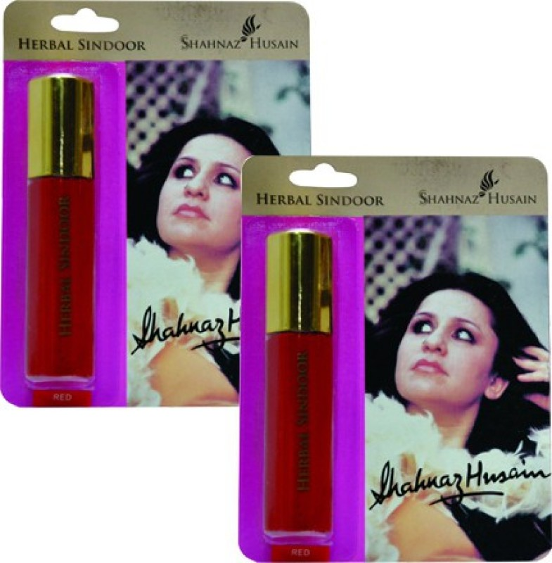 Shahnaz Husain Herbal Sindoor-Red Pack of 2 Sindoor(Red)