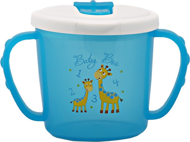 Baby Boo sip & seal cup  - plastic(Blue)