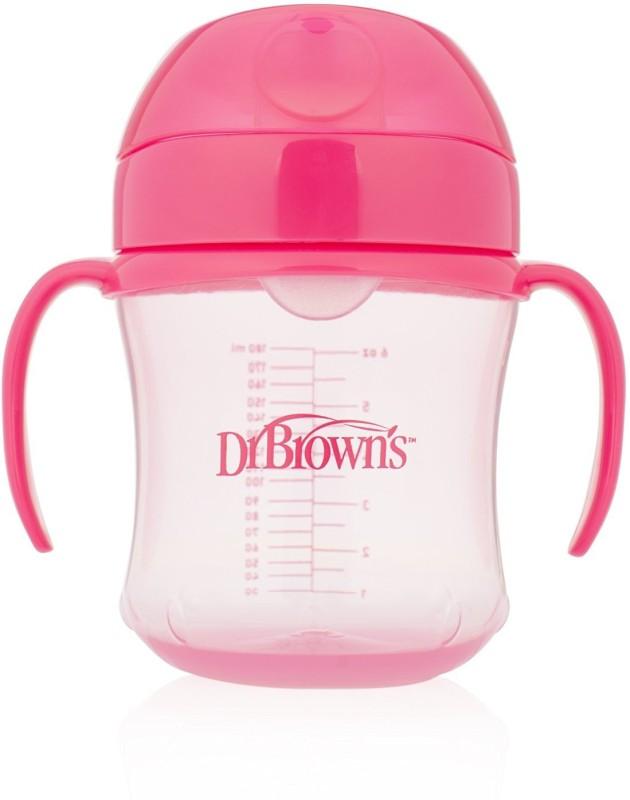 Dr. Brown's Training Cups - 6 Oz Soft Spout(Pink)