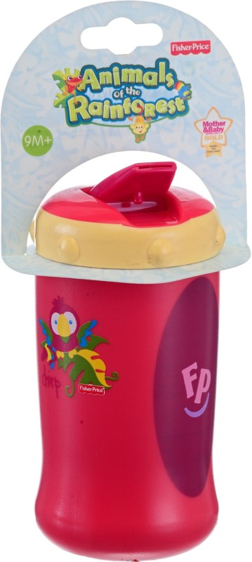 Fisher-Price SIPPER BOTTLE(Pink, YELLOY, Brown, Multicolor)
