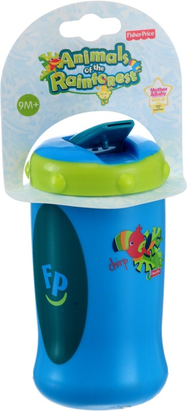 Fisher-Price SIPPER BOTTLE(GREEN|\BLUE, Multicolor)