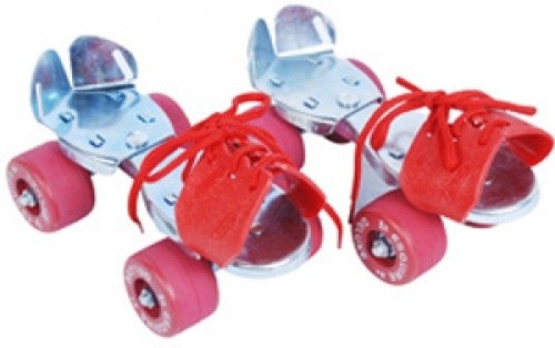 Jonex Baby Quad Roller Skates - Size 3-10 UK(Multicolor)