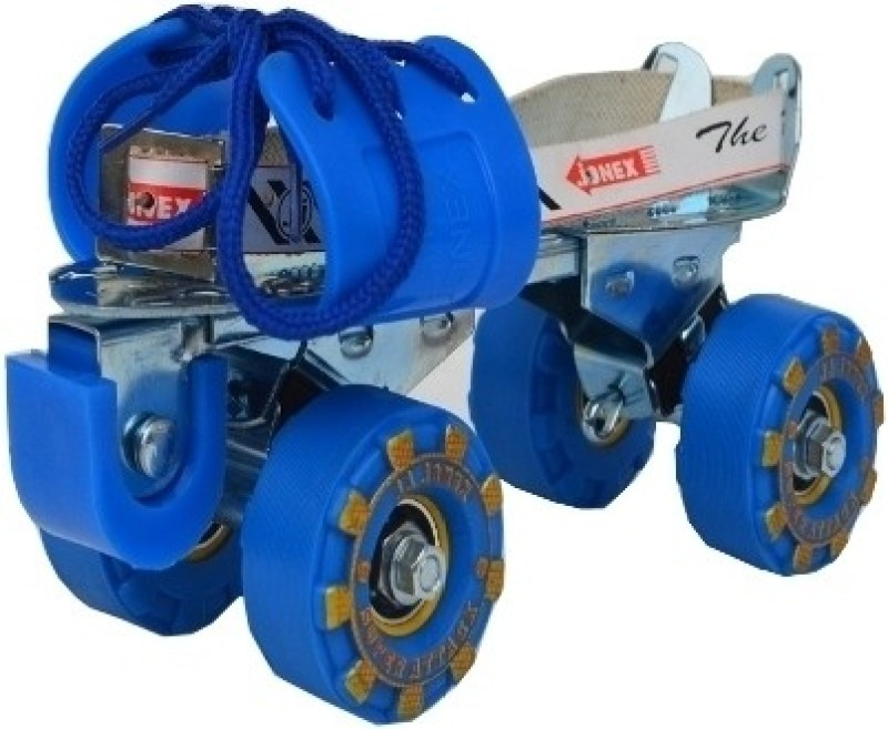 Jonex Attack Quad Roller Skates - Size 2.5-9.5 UK(Blue)