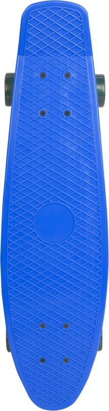 Yonker Plastic Skateboard Junior With Textured Surface 6 inch x 22 inch Skateboard(Blue, Pack of 1)