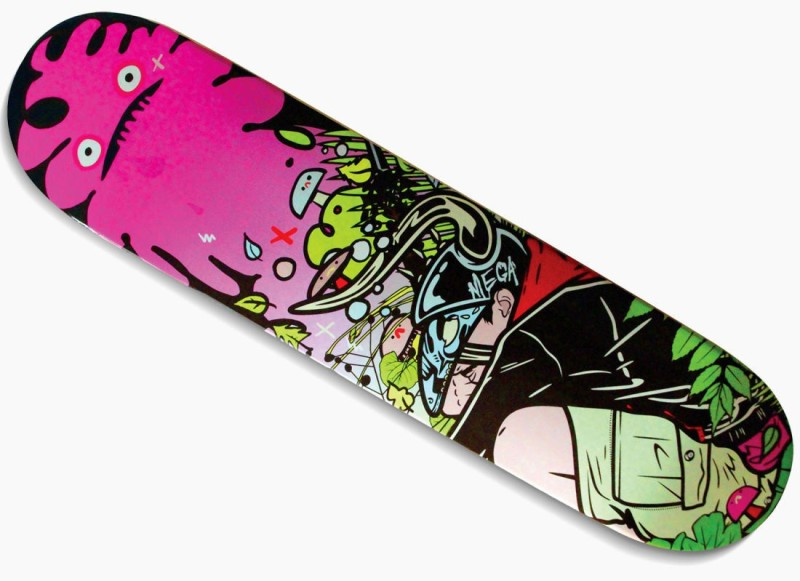 SHOPHILLS SBB-1 7.87 inch x 3.15 inch Skateboard(Multicolor, Pack of 1)