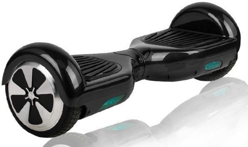 Jugaaduu Jugaaduu Hoverboard Balance Wheel Hover Skate Segway scooter H-6.5-BLACK Motorized Skateboard 19 inch x 6.5 inch Skateboard(Black, Pack of 1)