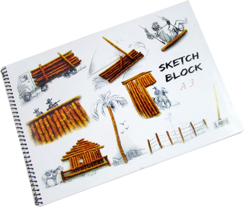 Gathbandhan BOOK361 Sketch Pad(White, 36 Sheets)