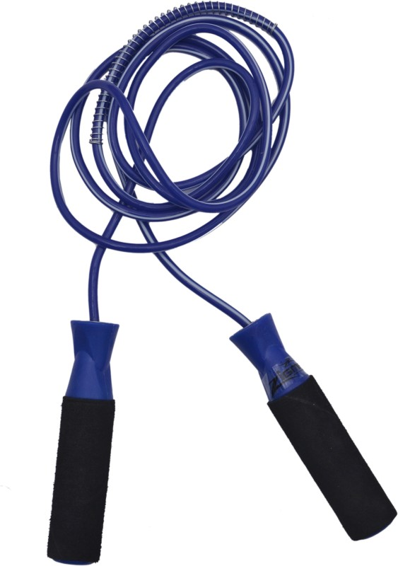 Zigma Racer Ball Bearing Skipping Rope(Blue)