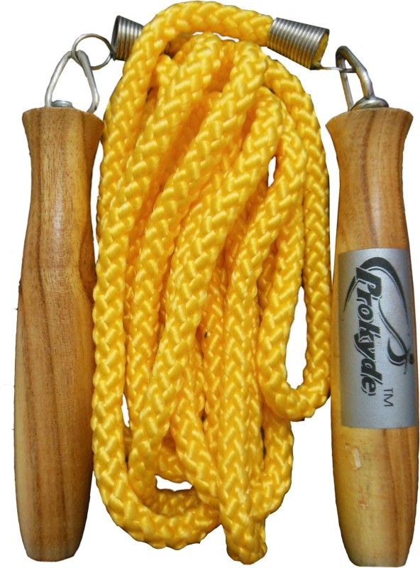 Prokyde Lite Freestyle Skipping Rope(Yellow, Length: 320 cm)