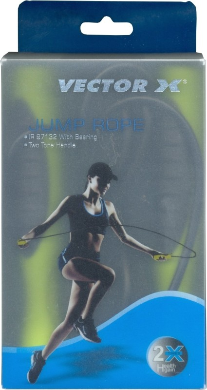 Vector X IR 97132 Skipping Rope(Multicolor, Length: 274 cm)