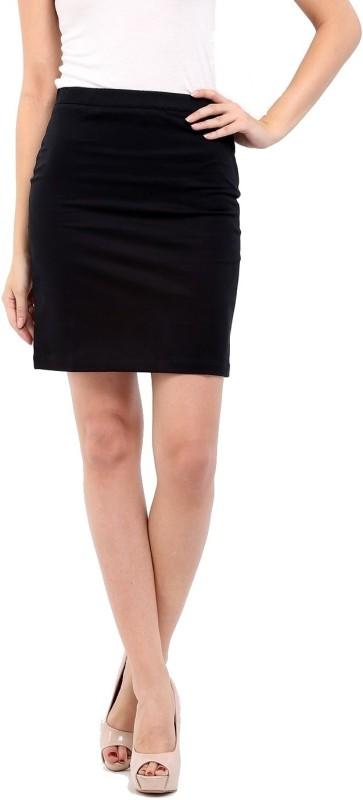 cottinfab-solid-womens-straight-black-skirt