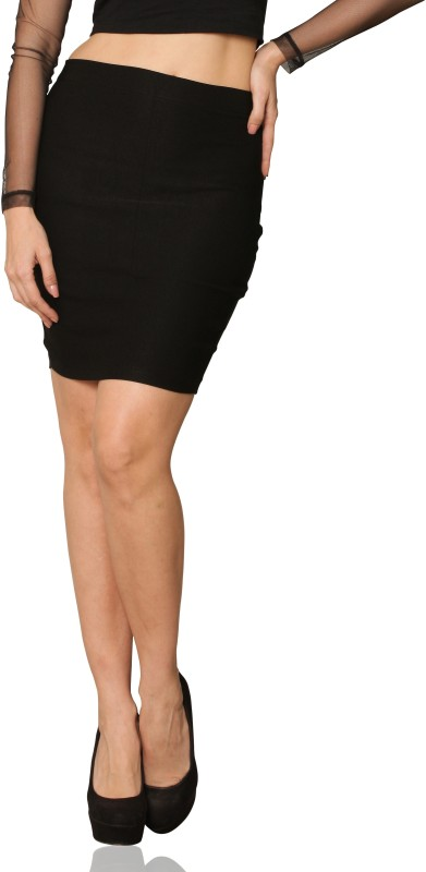 miss-chase-solid-womens-straight-black-skirt