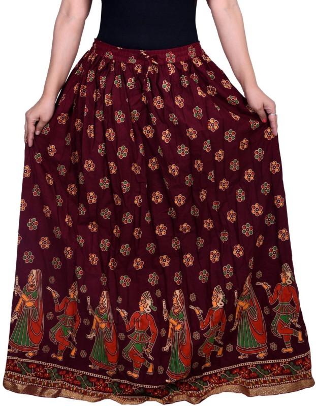 Decot Paradise Printed Women's Regular Multicolor Skirt