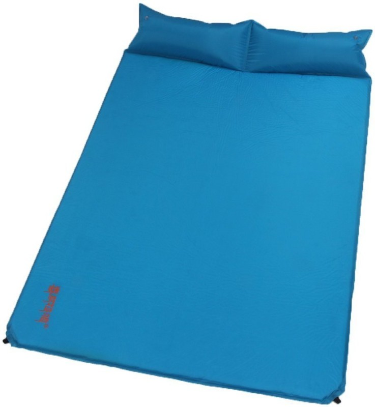 Nimble House Self Inflating Sleeping Pads Mats with Pillow Thicken Outdoor Protable for Camping & Hiking Sleeping Bag(Blue)