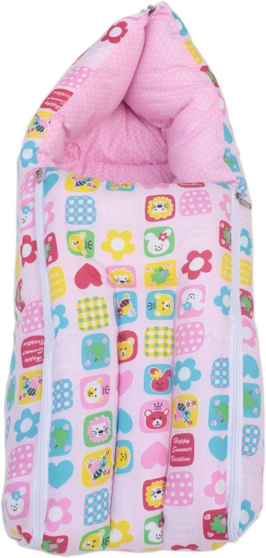 Amardeep Printed Sleeping Bag(Pink)